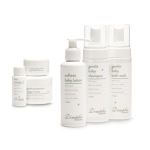 Dimples Organic skin care range
