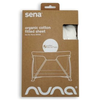 nuna SENA portable cot fitted sheet