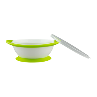 NUK No-mess Suction Bowls green