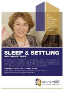 Onewa Parents Centre - Sleep & Settling Session