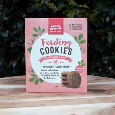 feeding cookies