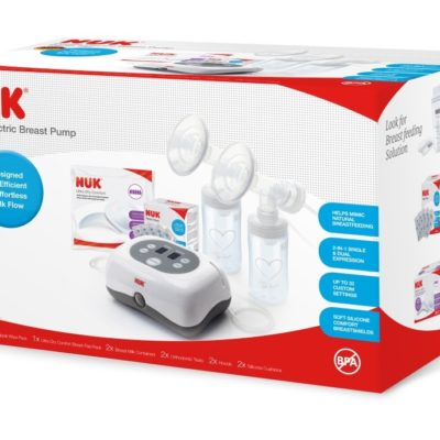 NUK Double Electric Breast Pump set