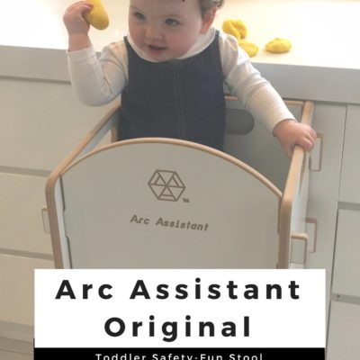 The Arc Assistant Original – New Toddler Safety-Fun Stool